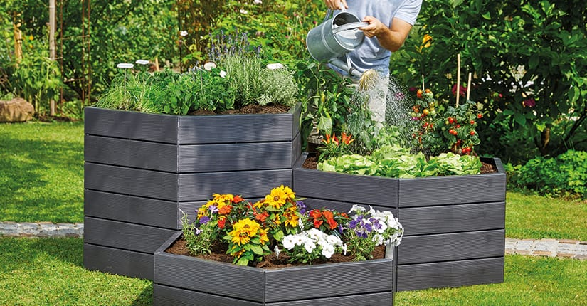 Garantia Ergo Raised Bed