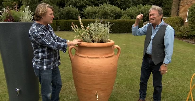 Alan Titchmarsh with Antique Amphora